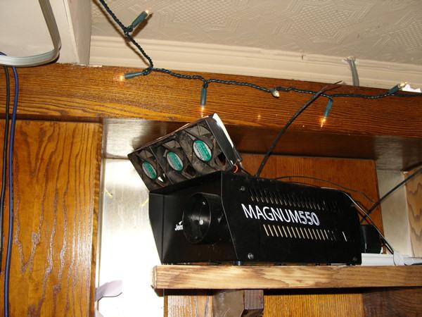 magnum 550 smoke machine